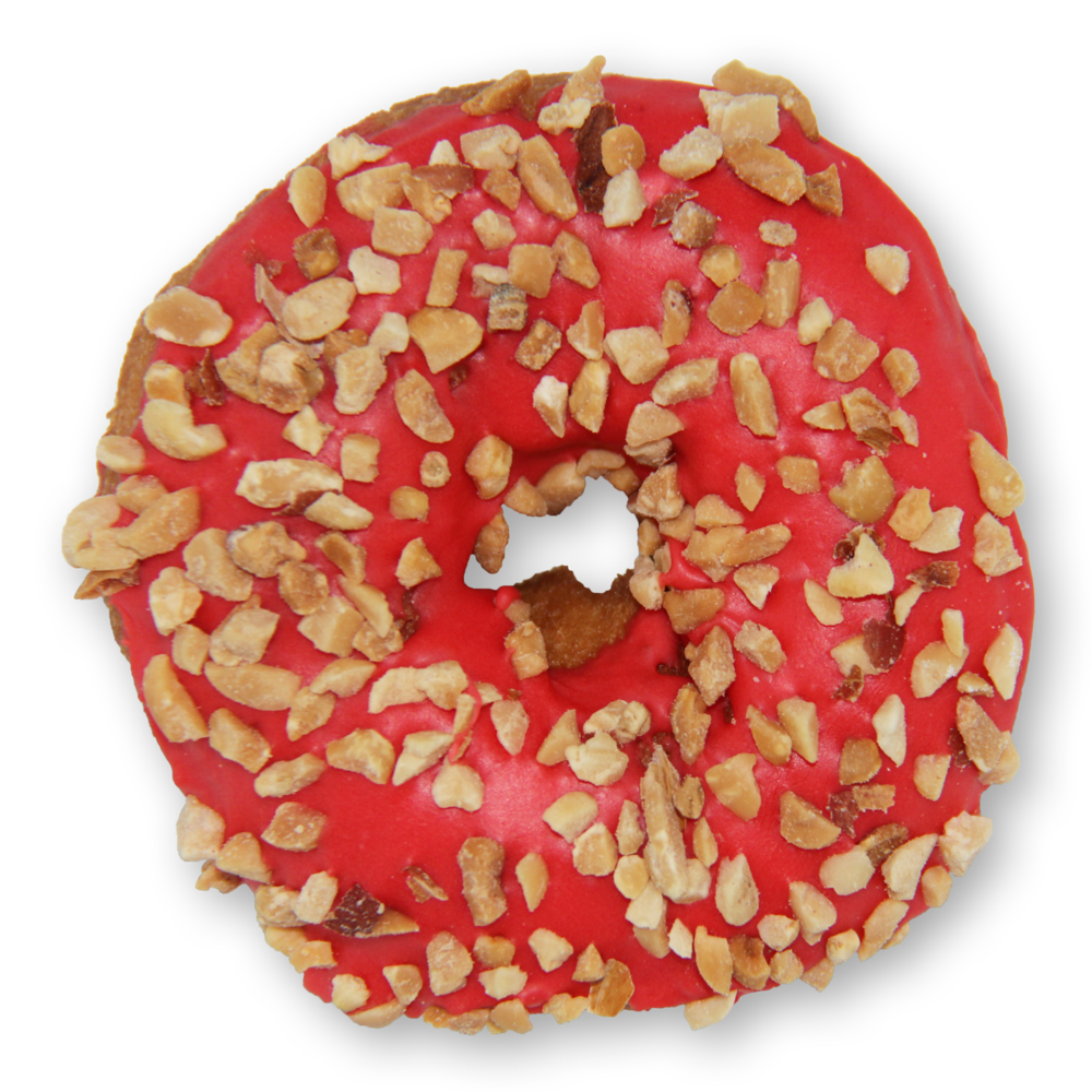 Menu slodoco peanut. Donuts clipart strawberry