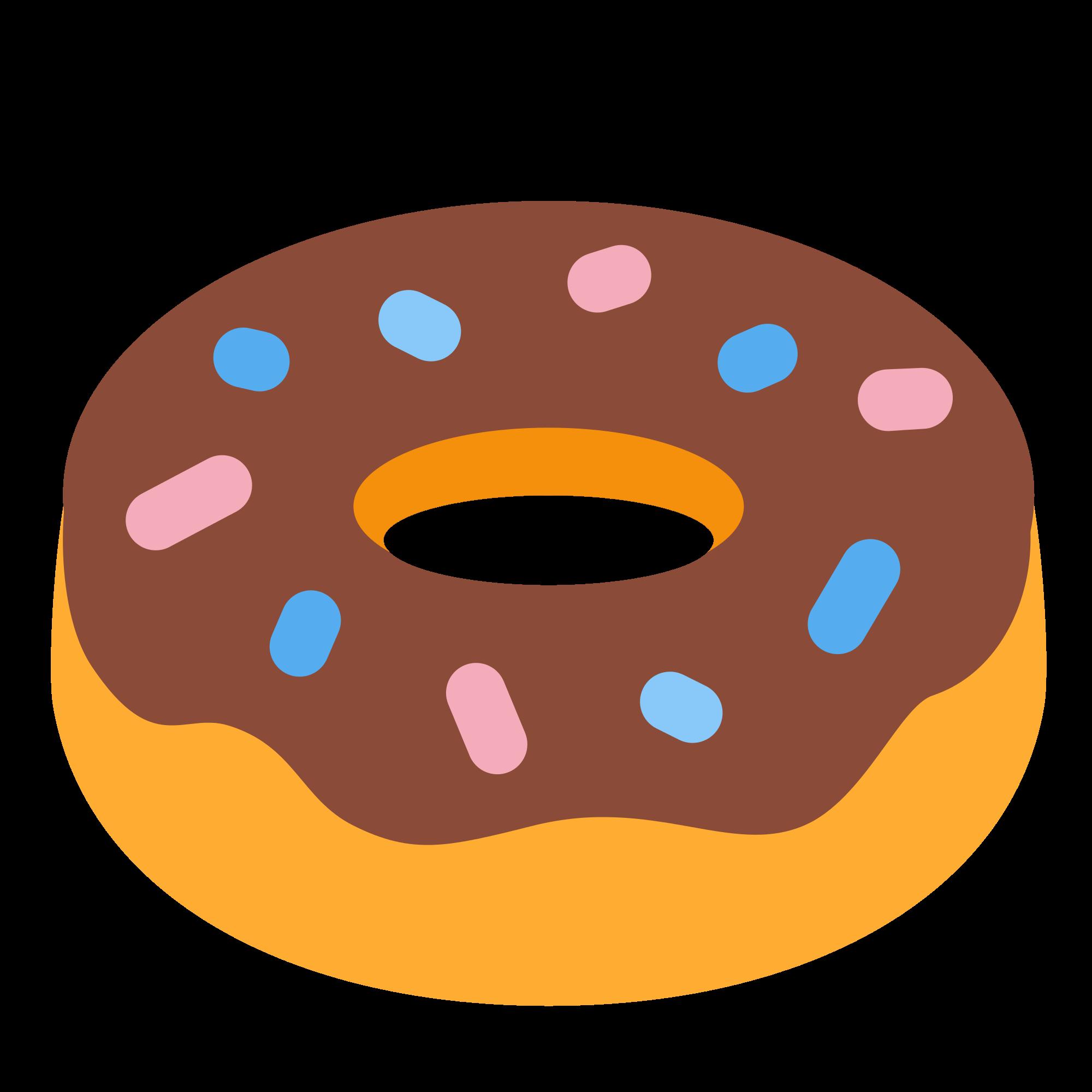 Donuts clipart svg. File twemoji f wikimedia