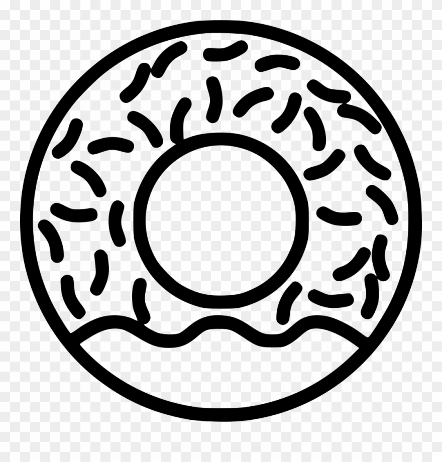 Bakery donut sweet png. Donuts clipart svg