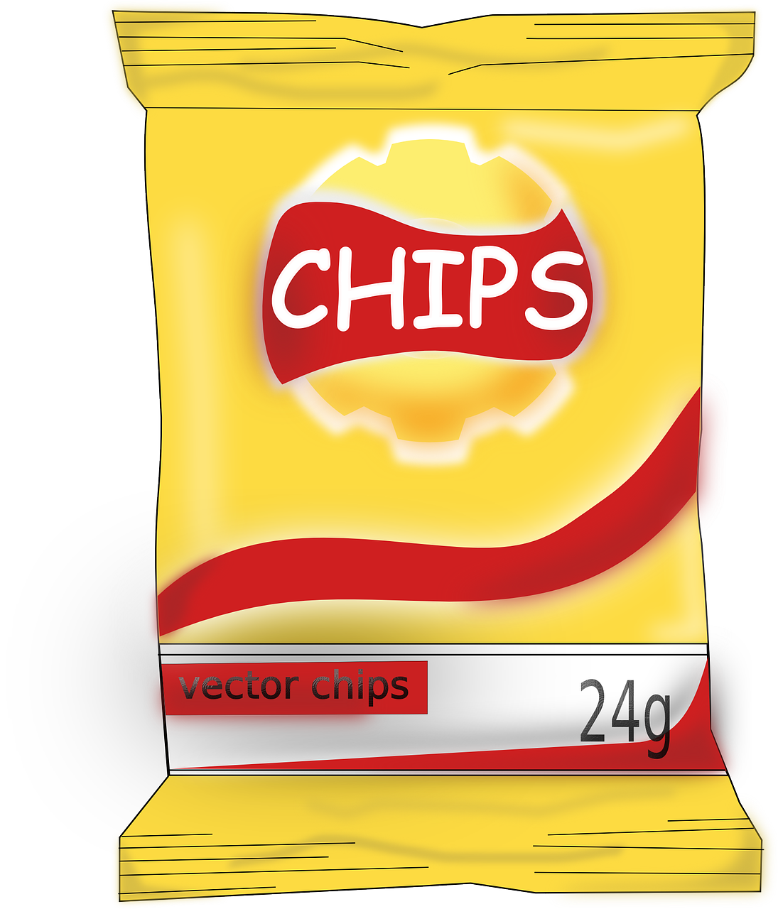 Food chips yummy tasty. Donuts clipart unhealthy snack