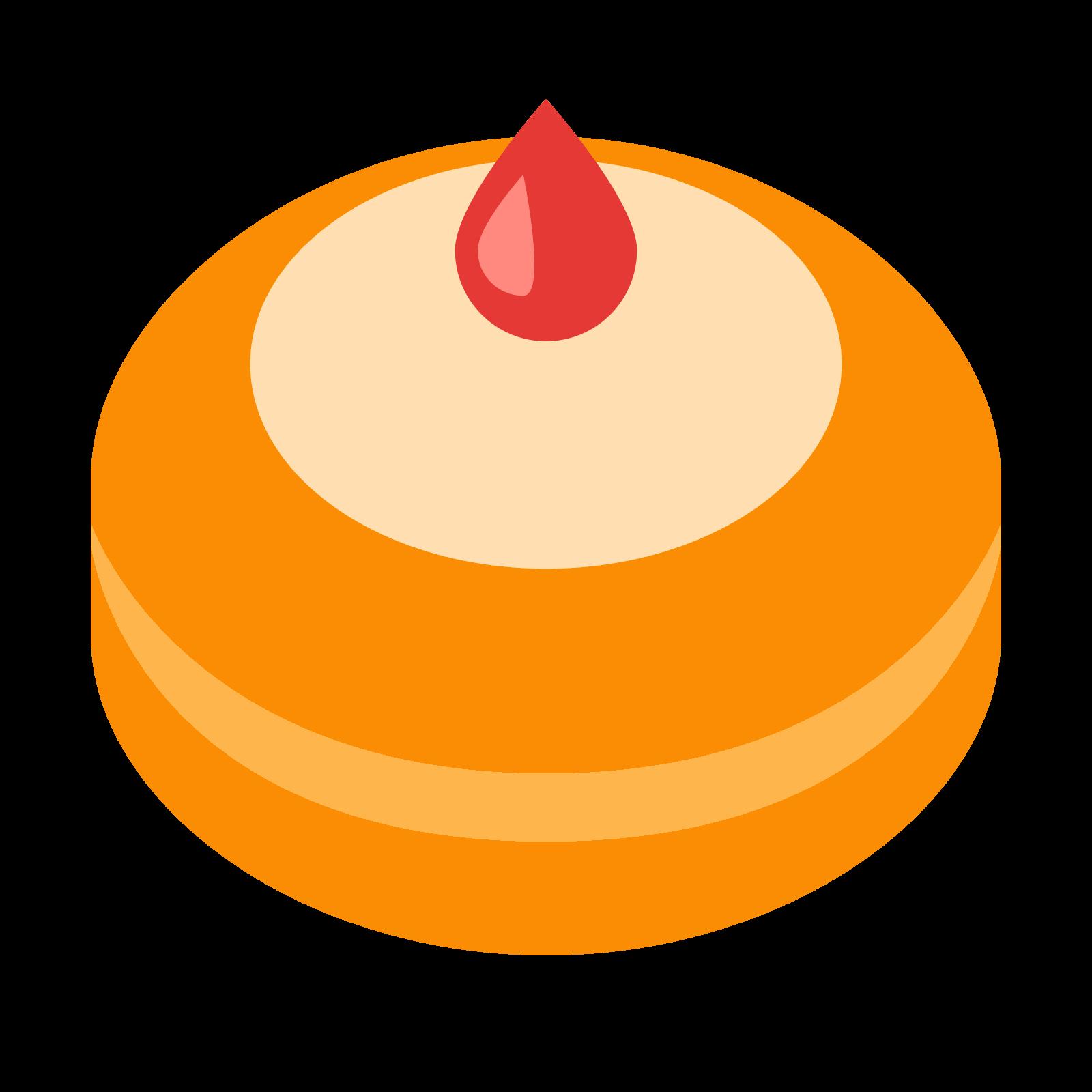 Hanukkah donut icon free. Doughnut clipart beignet