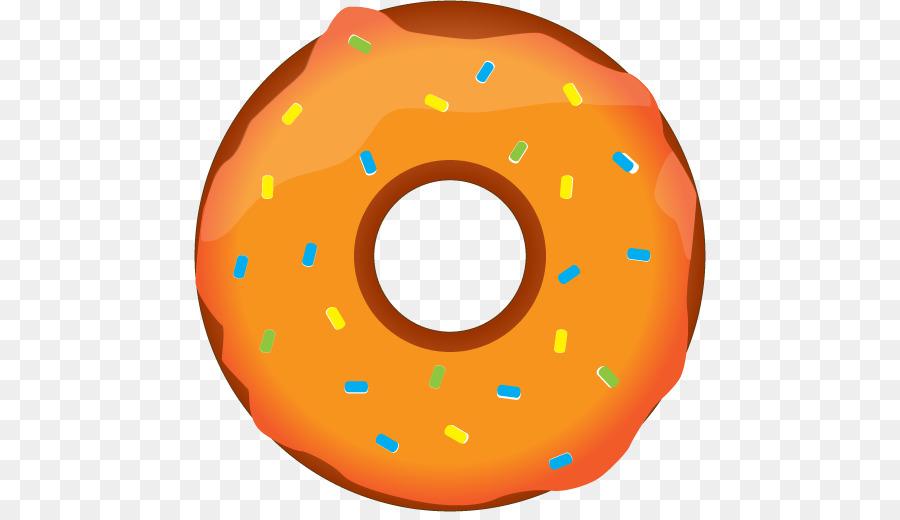 Donuts clipart yellow. Chocolate background orange