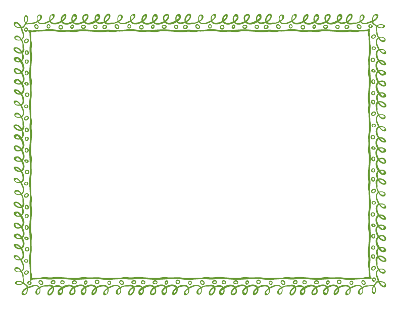 Doodle border png. Frames and borders avacado