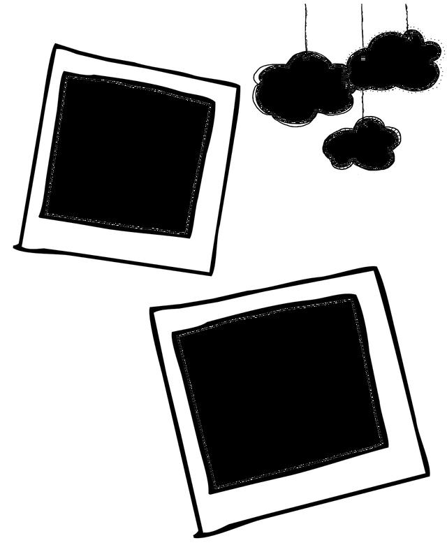 free blog boards. Doodle frame png