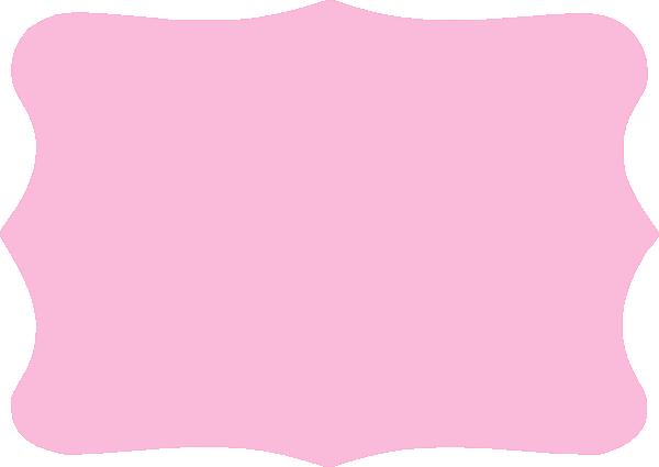 Doodle frame png. Light pink clip art