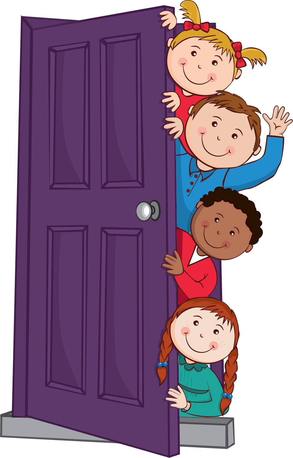door clipart animated