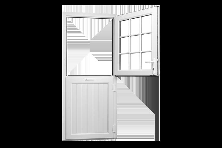 Rehau upvc stable doors. Door clipart back door