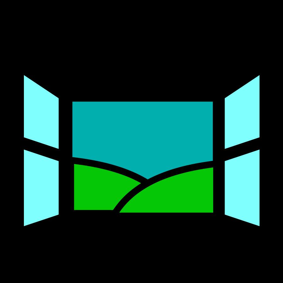 Website clipart responsible. Cartoon window collection clip
