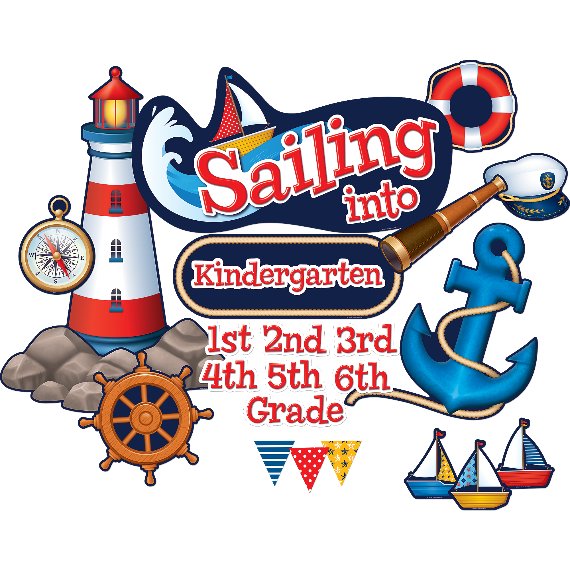 Lunchbox clipart preschool classroom. Sailing into bulletin board