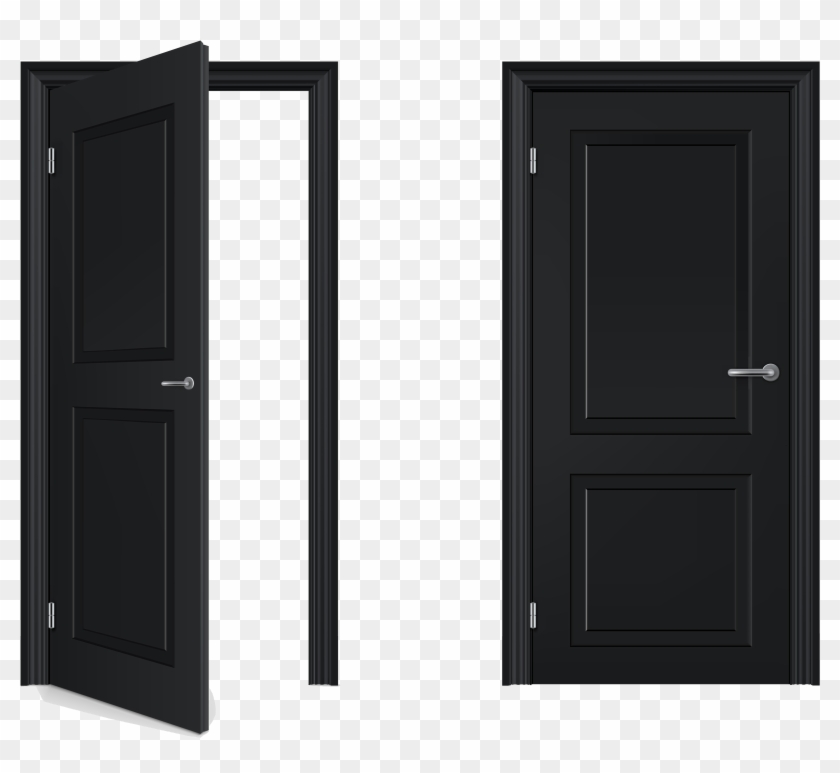 Door clipart closed door. Open and hd png