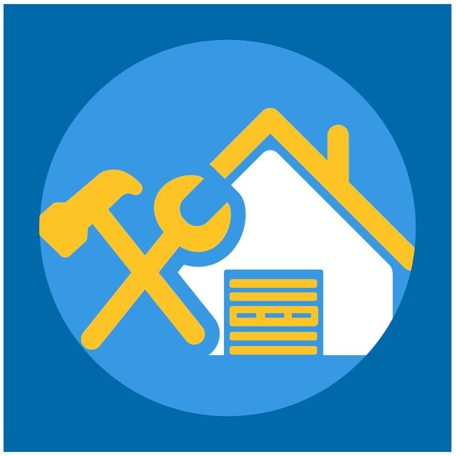 Garage icon shared by. Door clipart door holder