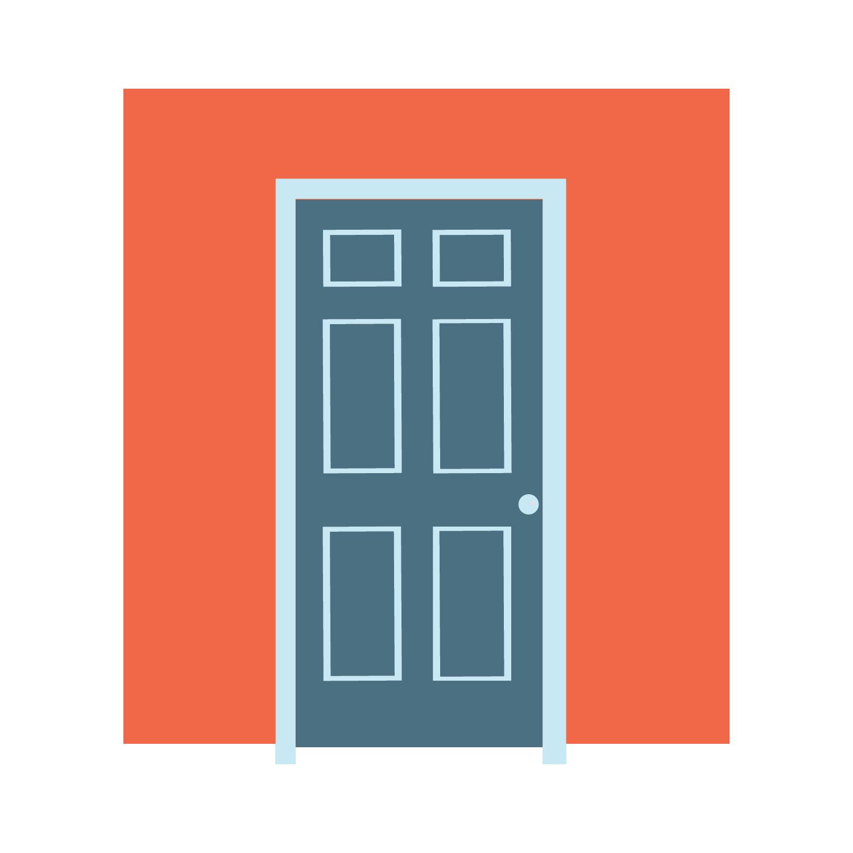 Door clipart door monitor. Regional partnerships workfountain our