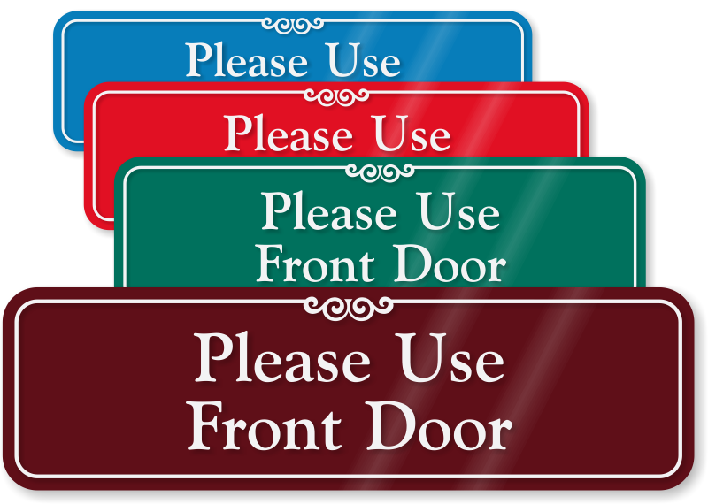 Door clipart entry door. Use other signs from