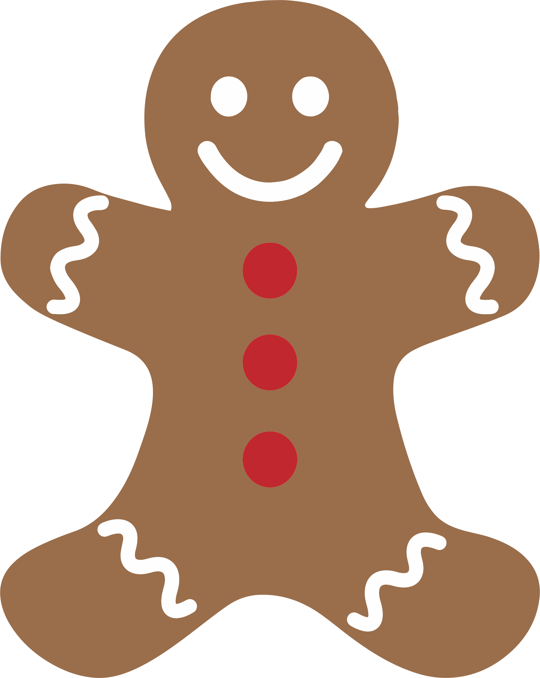 Man by gdj images. Lollipop clipart gingerbread