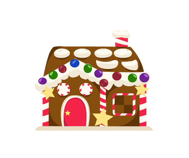 collection of clipart. Gingerbread house png