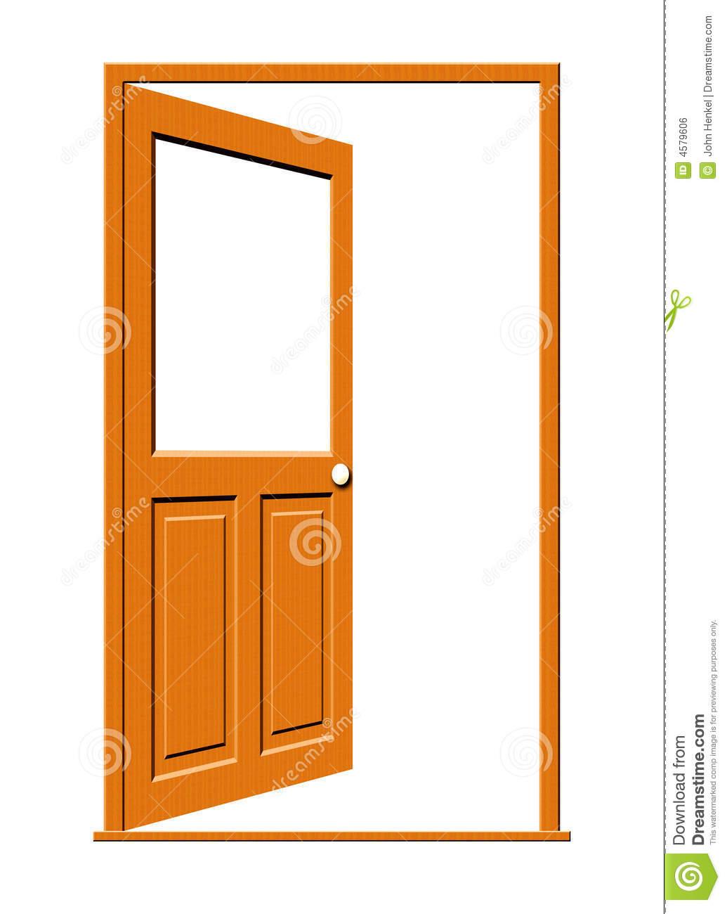 open clipartlook. Door clipart opened door