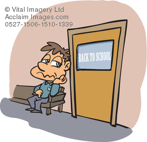 Door clipart outside. Illustration of a man