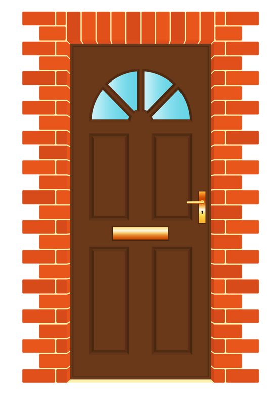 Door clipart puerta. La ventana de casa