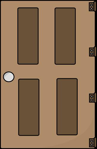 Door clipart rectangle. Doors cliparts zone