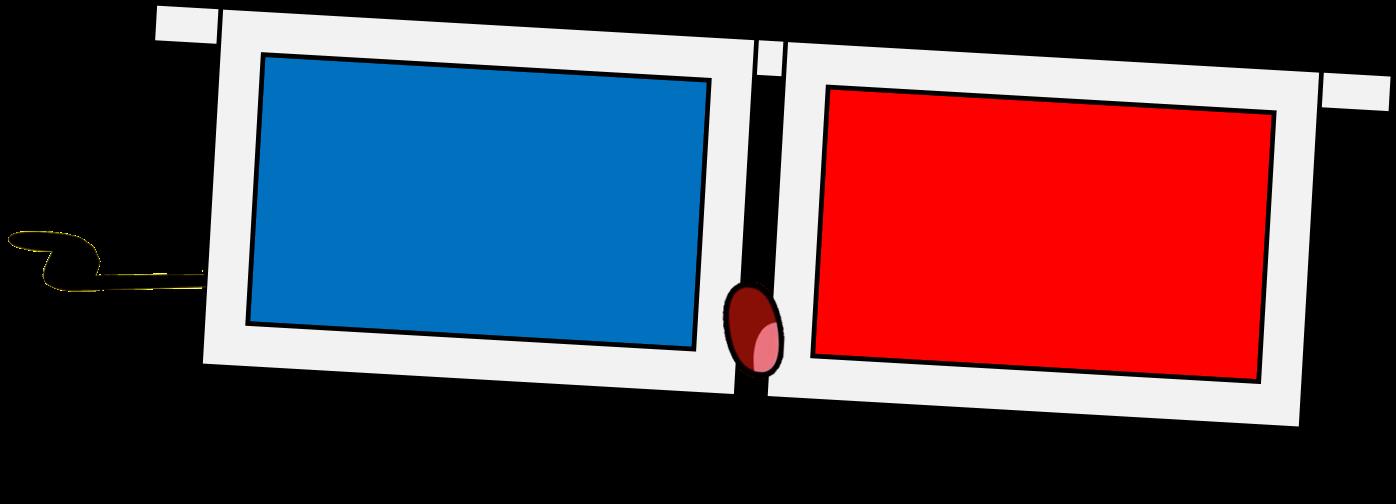 Door clipart rectangular object.  d glasses non