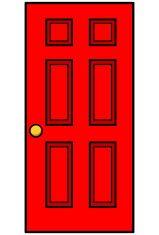 Door clipart red door. Image result for clip