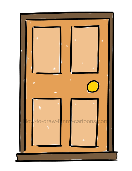 Clipart door dooor. How to draw a