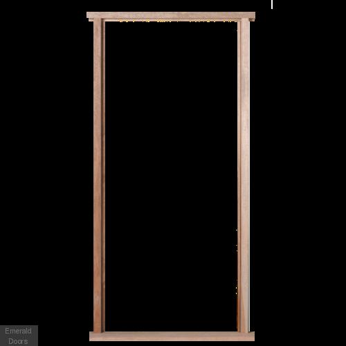 External hardwood including cill. Door frame png