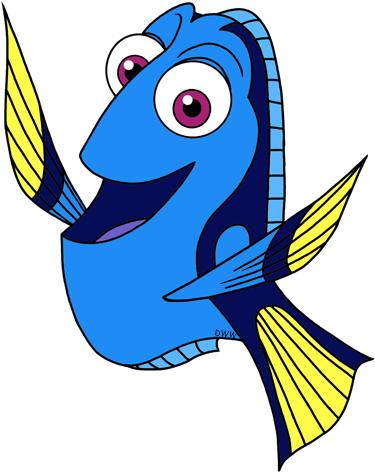 Finding clip art disney. Clipart fish dory