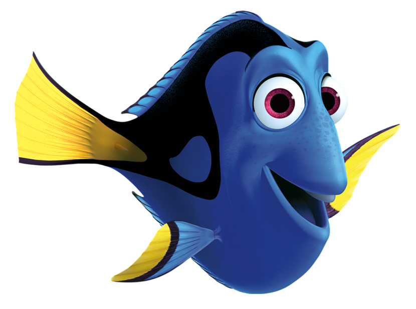 Clipart fish dory. Free black cliparts download