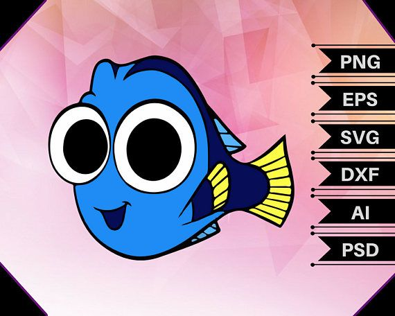 Finding svg birthday . Dory clipart baby dory