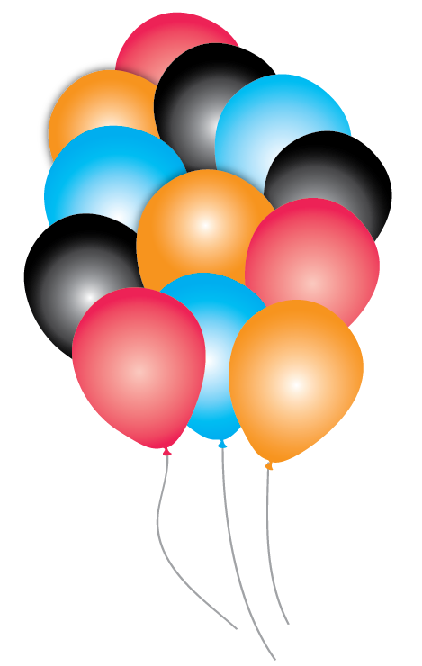 Star wars party balloons. Dory clipart balloon