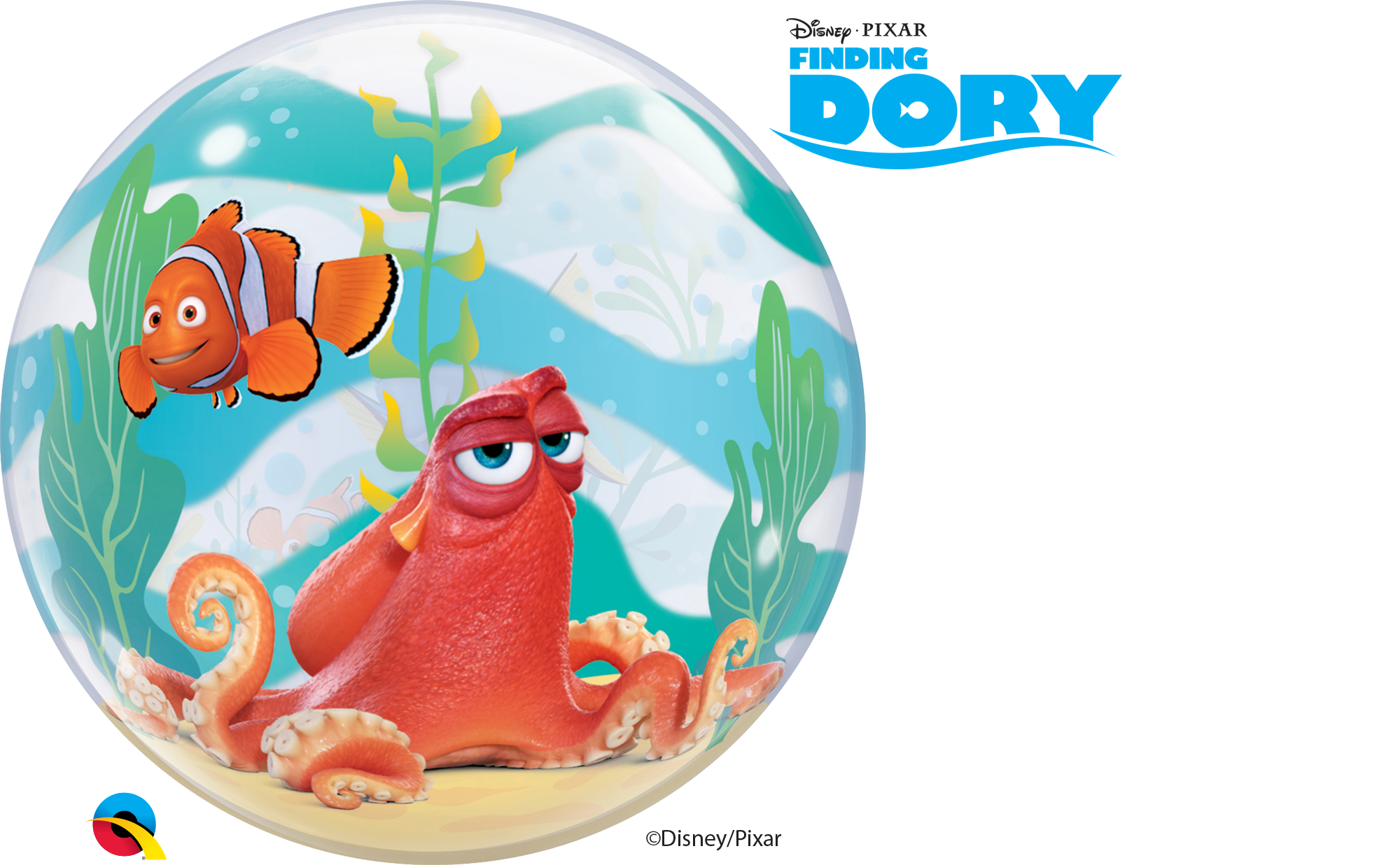 Finding bubble . Dory clipart balloon