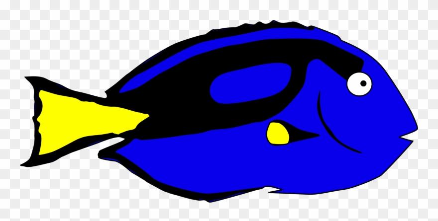Dory clipart blue fish. Clip art cool hepatus