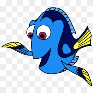 Png transparent for free. Dory clipart blue fish