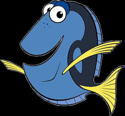 Finding nemo . Dory clipart cartoon