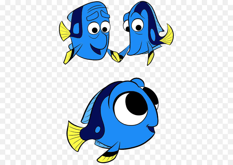 Family child fish transparent. Dory clipart cartoon baby