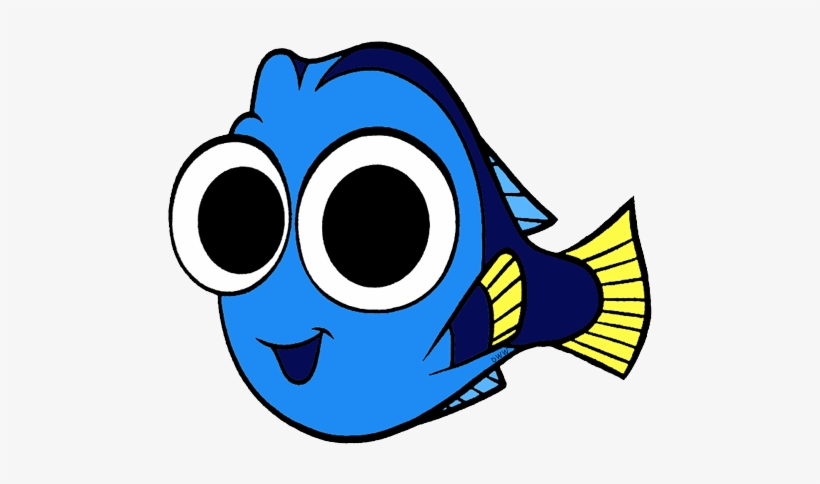 Dory clipart coloring page baby. Finding seasweed and coral