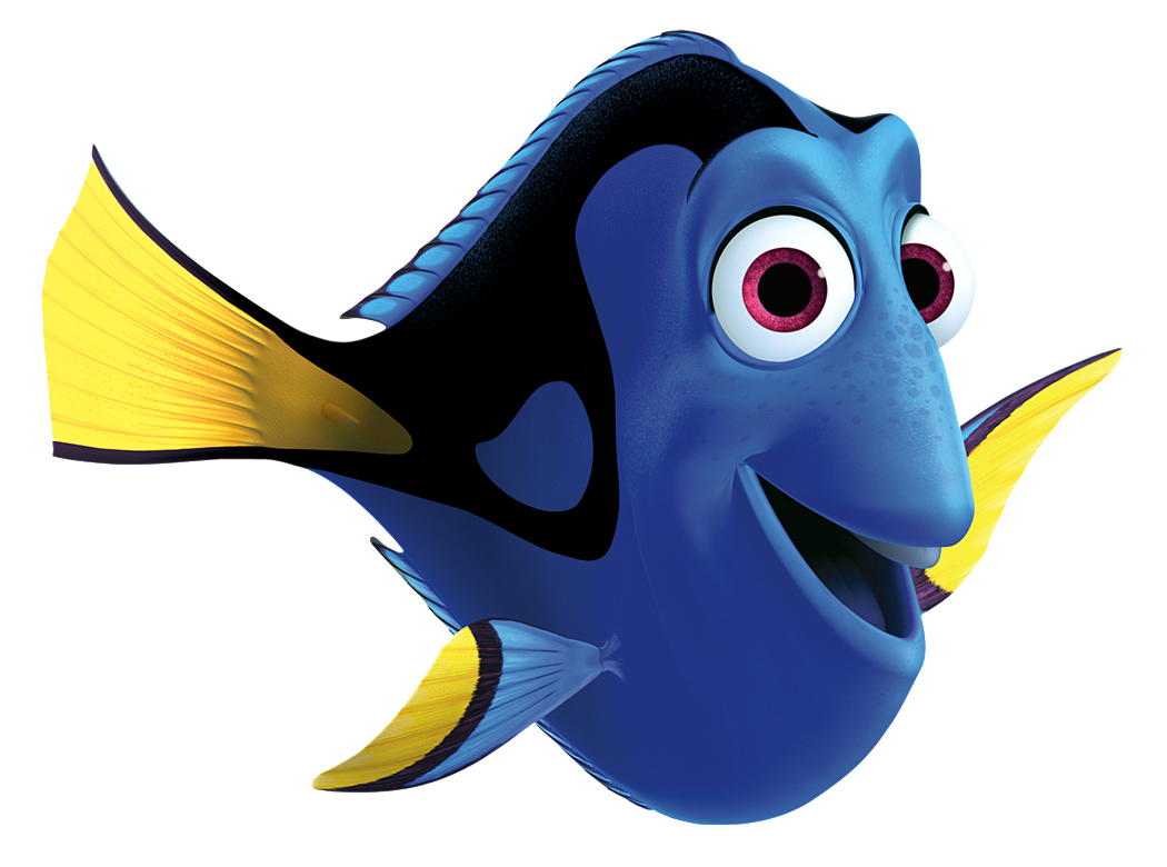 collection of finding. Dory clipart colour