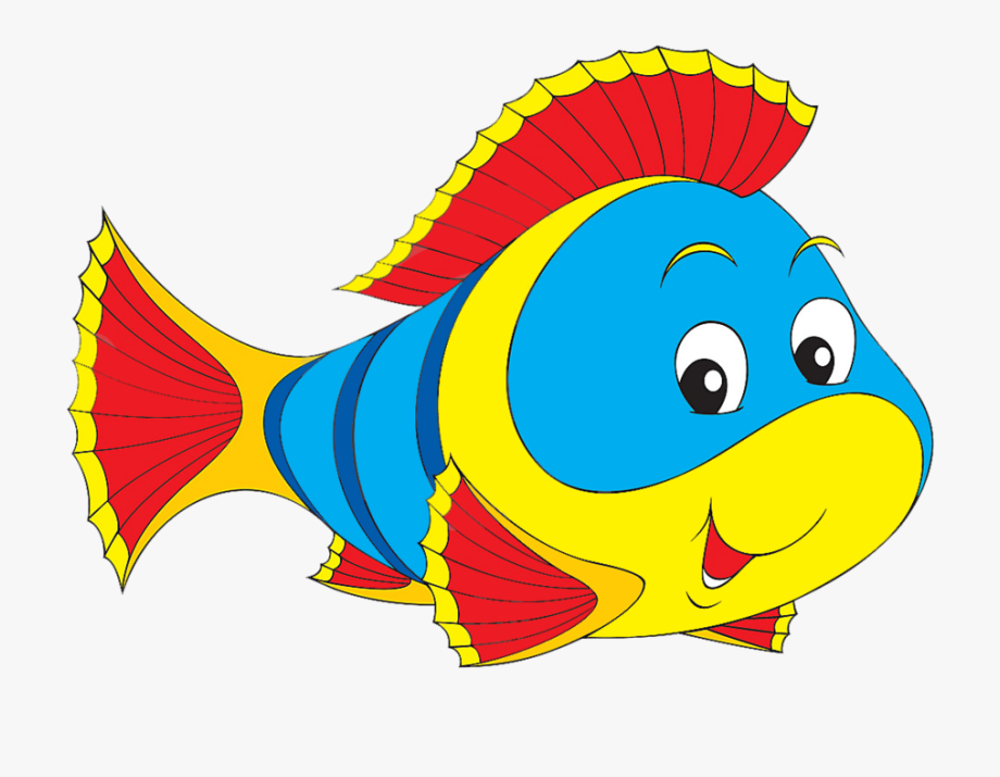 Peces de colores animados. Dory clipart colour
