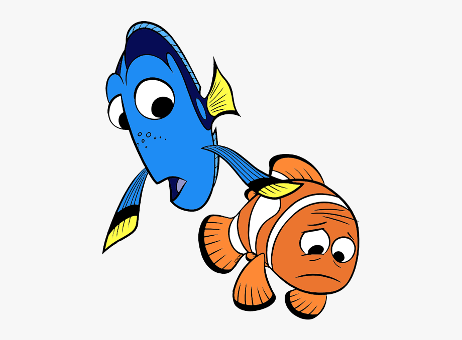 Marlin and transparent cliparts. Dory clipart dory fish
