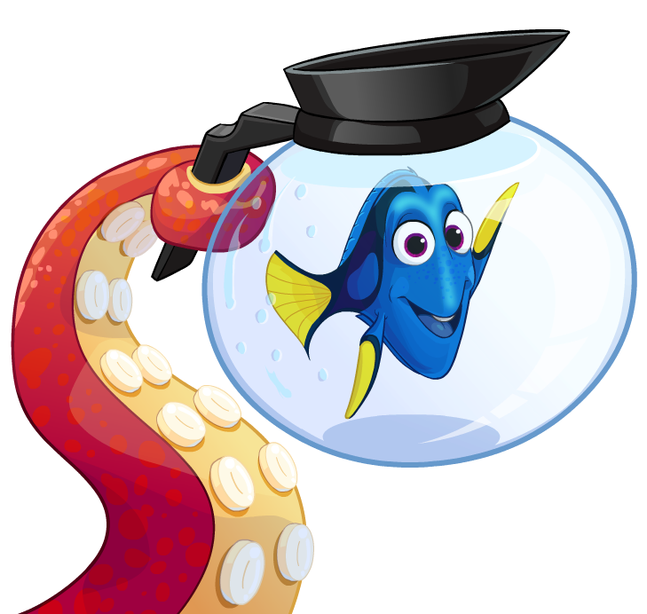 Dory clipart file. Image hanks tentacle holding