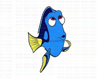Dory clipart file. Finding etsy