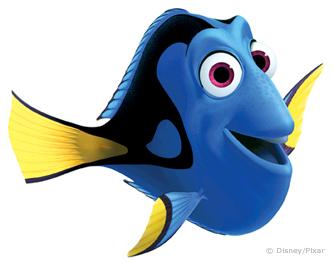 Dory clipart fish fin. Finding nemo