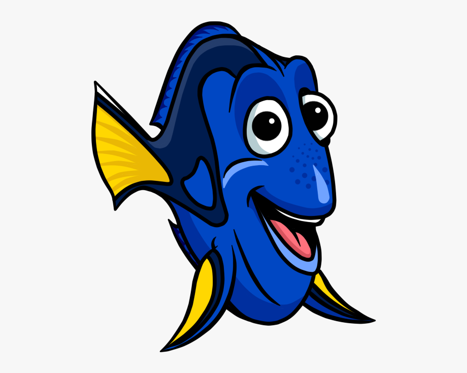 Fish cartoon nemo picture. Dory clipart fishl