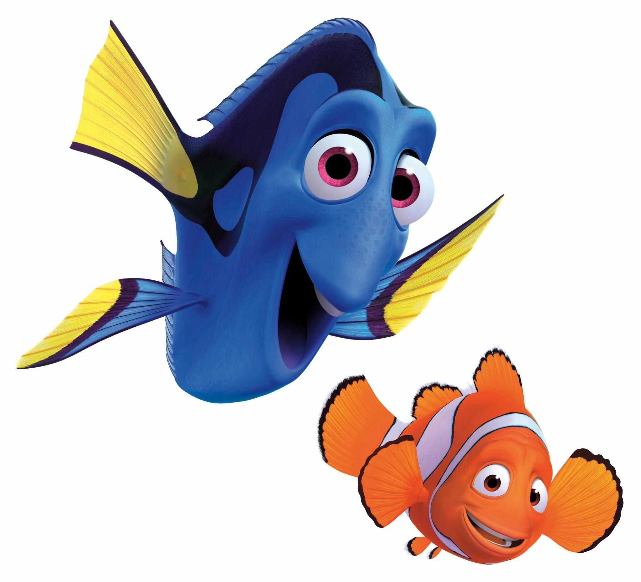 And nemo finding marlin. Dory clipart fishy