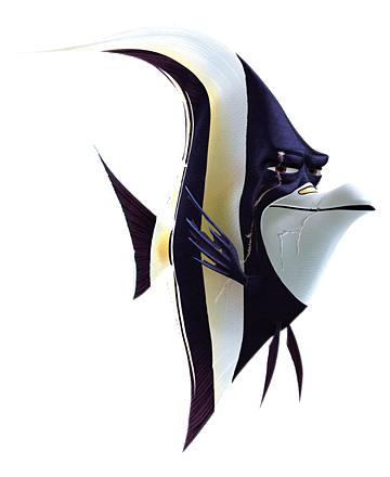 Dory clipart gill. Disney in finding nemo