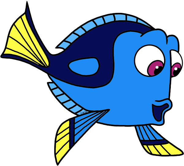 What fish is pearl. Dory clipart gill