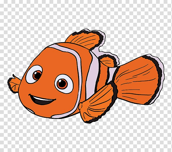 Dory clipart happy fish. Nemo drawing transparent background