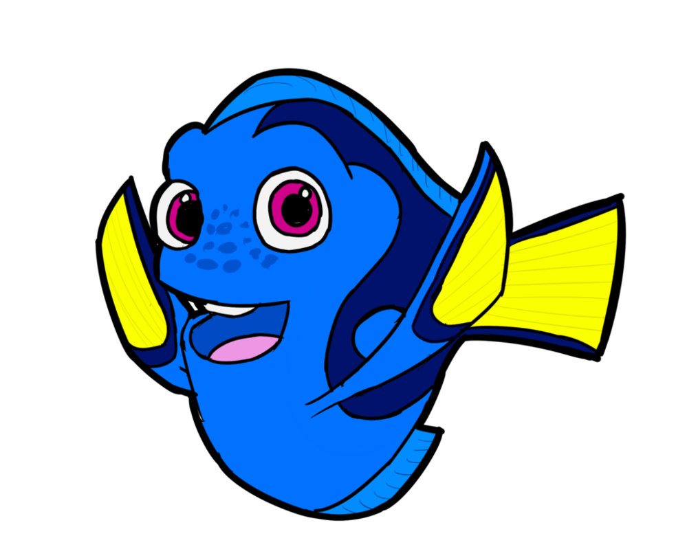 Dory clipart just keep swimming. By xelaalex on deviantart