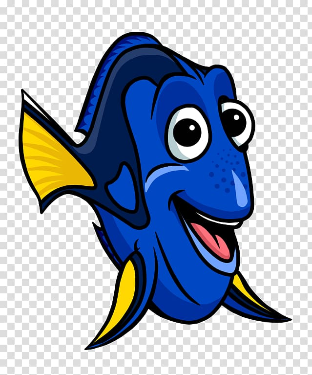 School drawing cartoon black. Dory clipart little fish